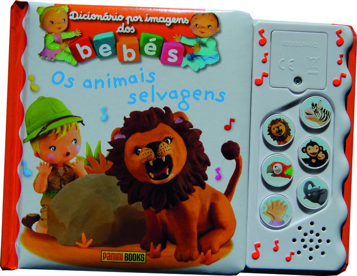 Dicionario por imagens dos bebes. os animais selvagens