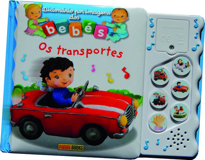 Dicionario por imagens dos bebes. os transportes