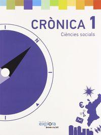 Ciencies socials 1ºep cronica 14 projecte explora