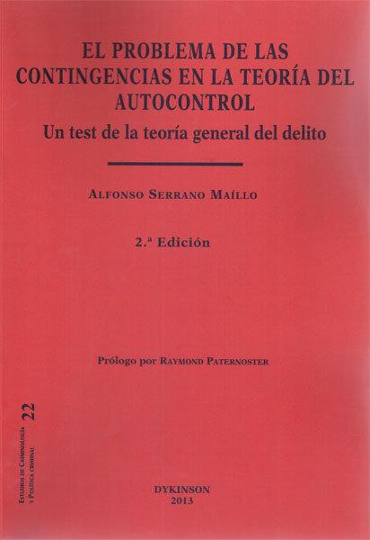 Problema de las contingencias en la teoria del autocontrol,