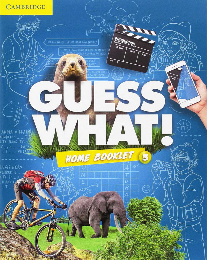 Guess what ess 5 act/do at home/online interactive