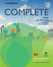 Complete first schools wb w/ansers 20 spanish spea