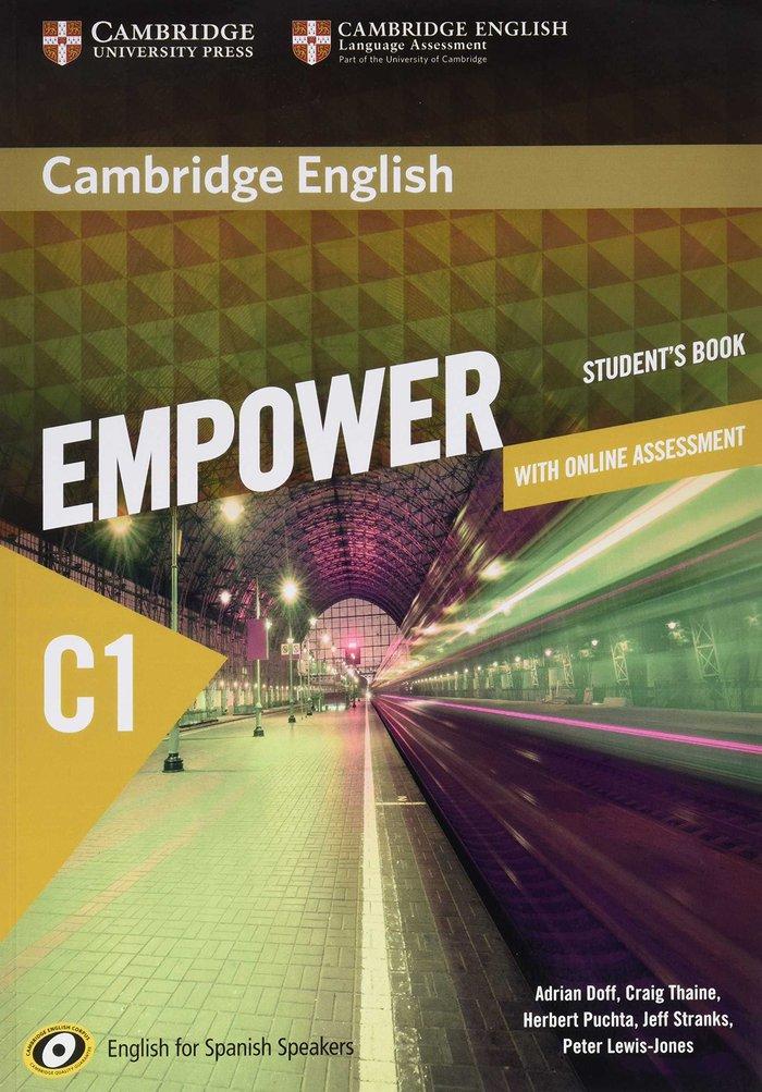 Empower spanish speaker c1 st with online pract.an
