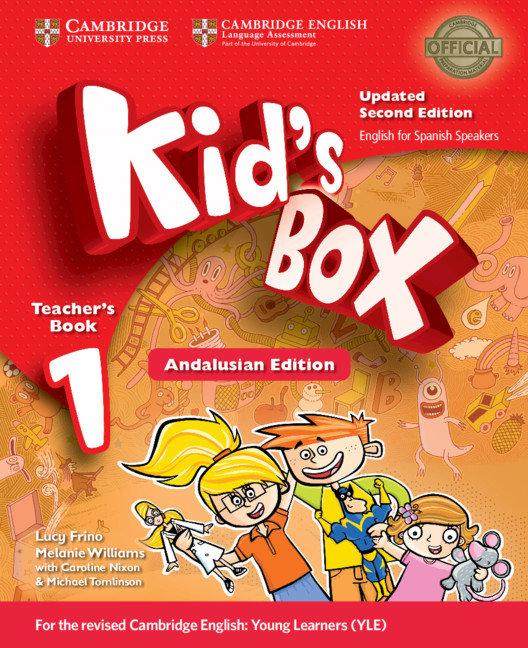 Kid's box level 1 teacher's book updated english f