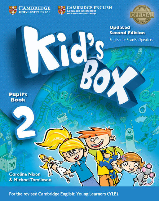 Kid's box 2ºep st with my home booklet 17
