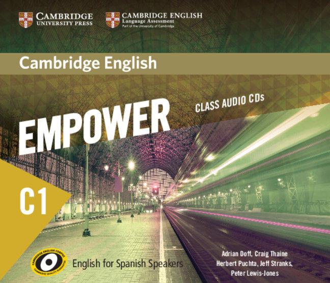 Empower for spanish speakers c1 class audio cd