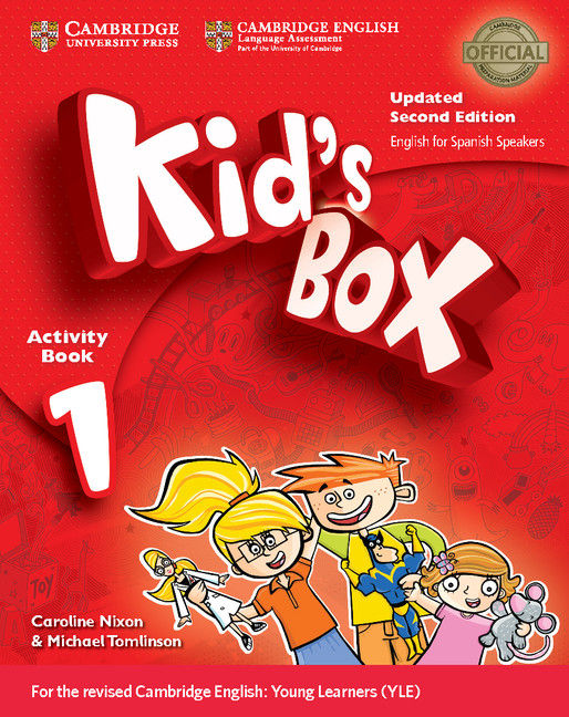 Kid's box 1ºep wb with cd-rom english 17