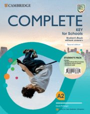 Complete key for schools pack st without answers w