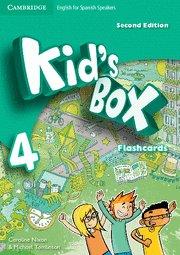 Kid's box 4ºep flashcards