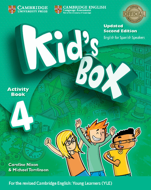 Kid's box 4ºep wb with cd rom 17