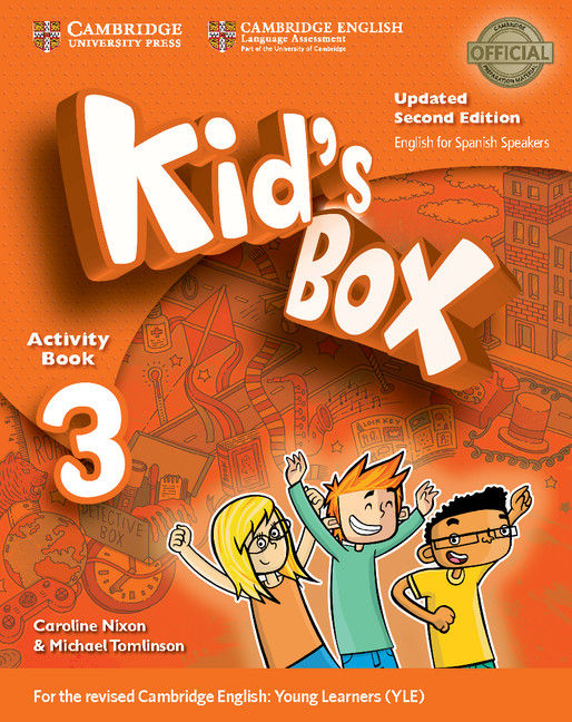 Kid's box 3ºep wb book with cd rom 17