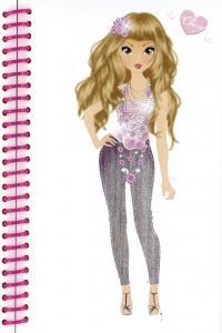 Princess top pocket designs rosa