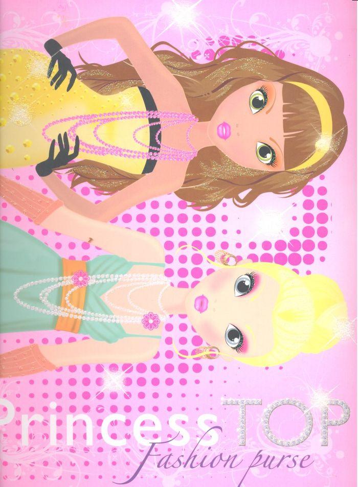 Princess top fashion purse rosa