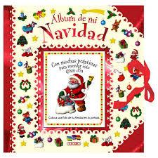 Album de mi navidad rojo