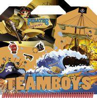 Teamboys pirates stickers