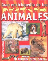 Gran enciclopedia de animales portada roja