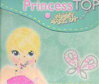 Princess top funny make up verde