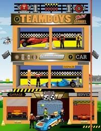 Teamboys motor garages