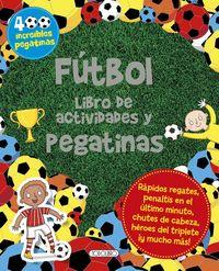 Futbol libro de actividades y pegatinas