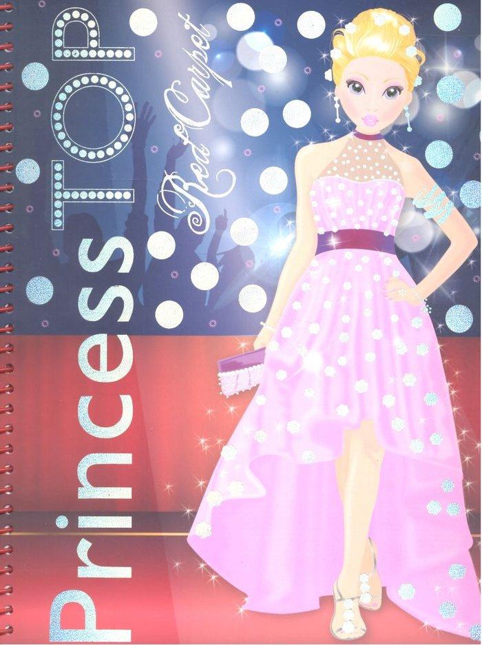 Princess top red carpet