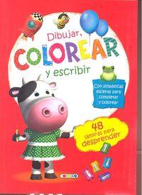 Dibujar colorear y escribir 2