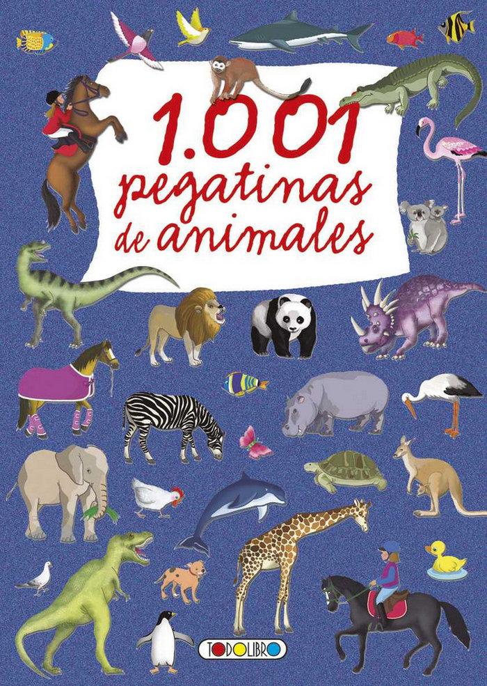1001 pegatinas de animales