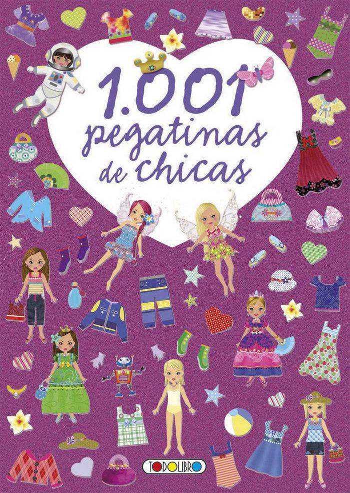 1001 pegatinas de chicas