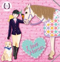 I love horses rosa