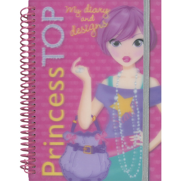 Princess top my diary and designs t0654001