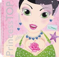Princess top designs tattoos 1