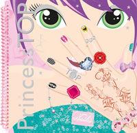 Princess top designs nails 2