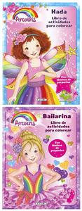 Arcoiris actividades colorear