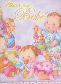 Album de mi bebe amarillo