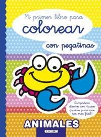 Mi primer libro para colorear animales