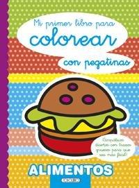 Mi primer libro para colorear alimentos