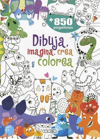 Dibuja imagina crea y colorea 422002