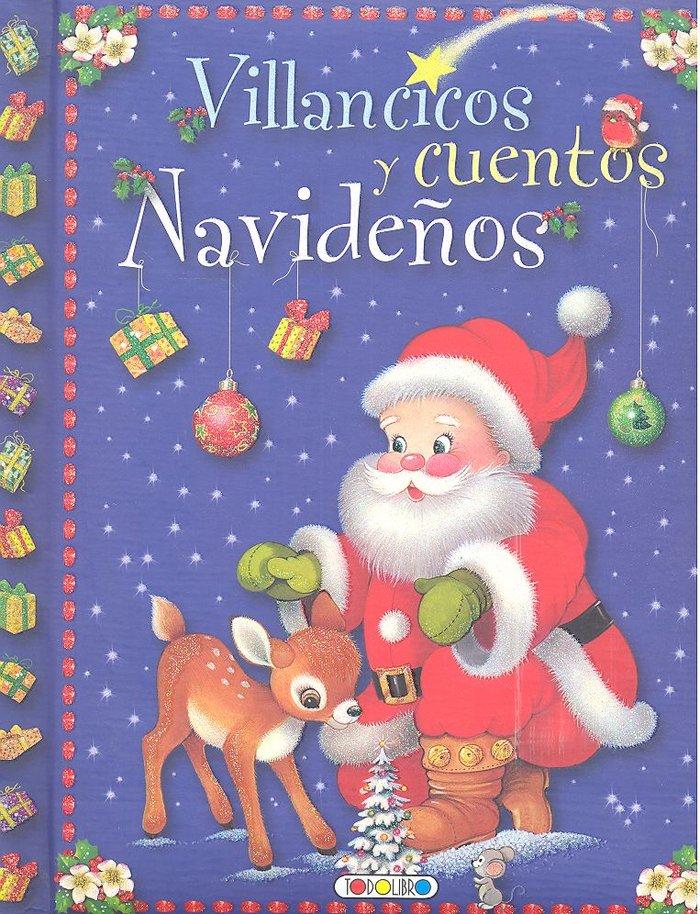 Villancicos y cuentos navideños azul