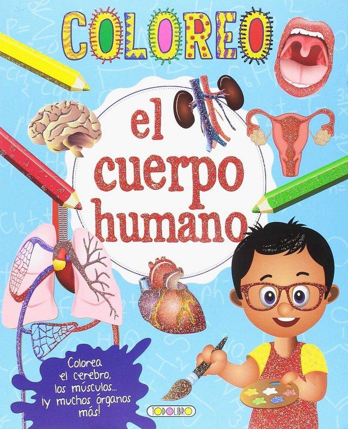 Coloreo el cuerpo humano 2 titulos