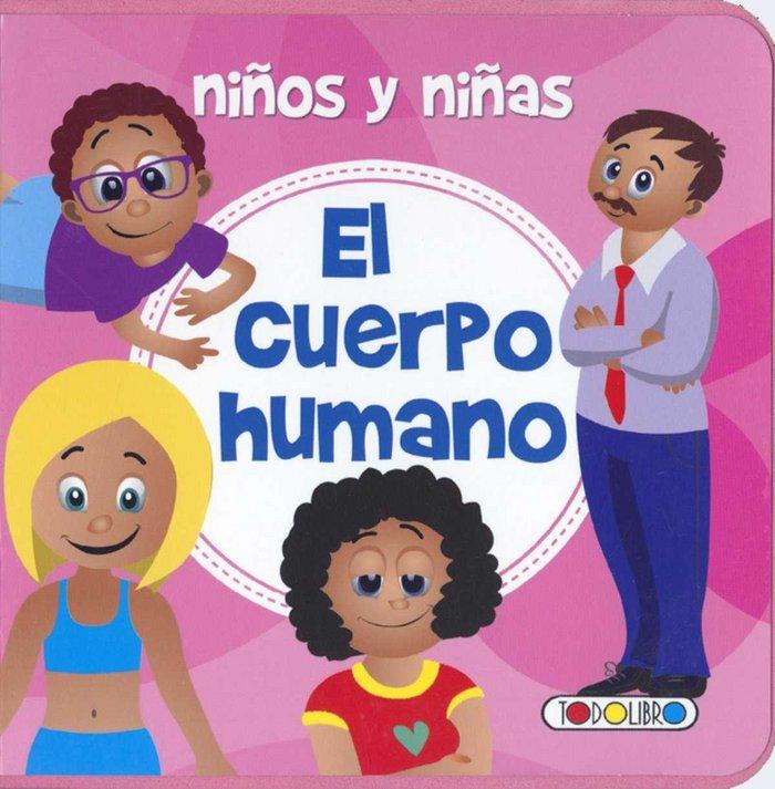 Niños y niñas el cuerpo humano