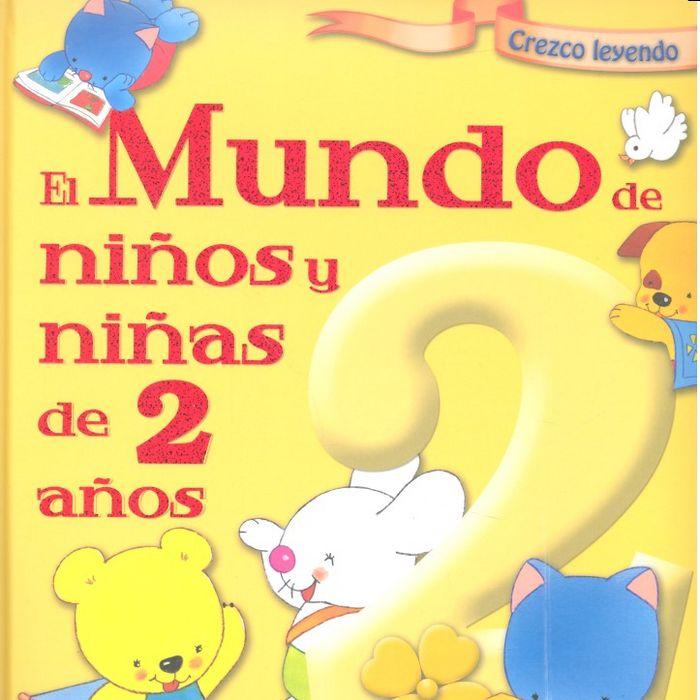 Mundo niños y niñas de 2 años