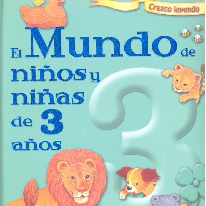 Mundo niños y niñas de 3 años