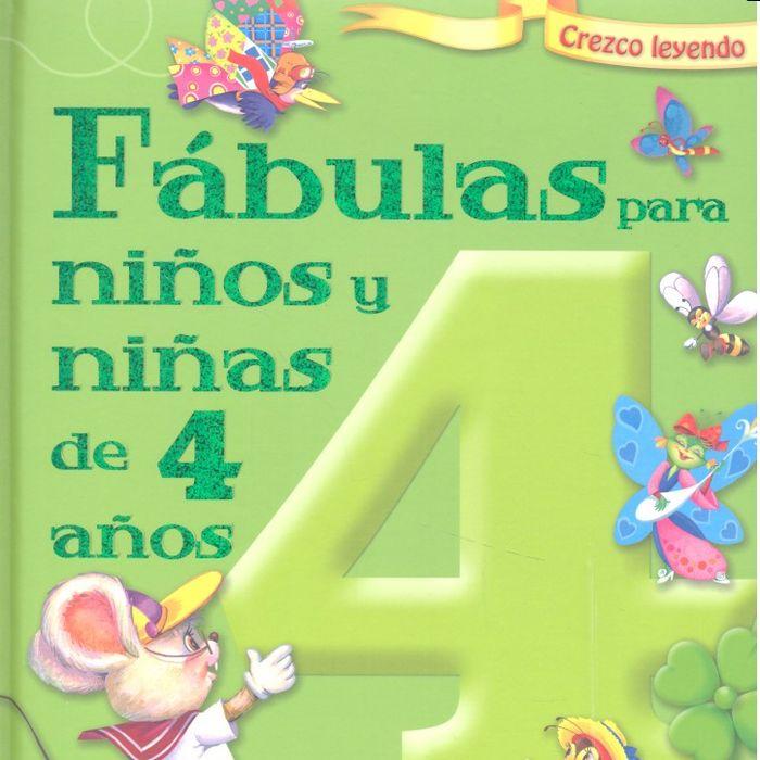 Fabulas para niños y niñas 4 años