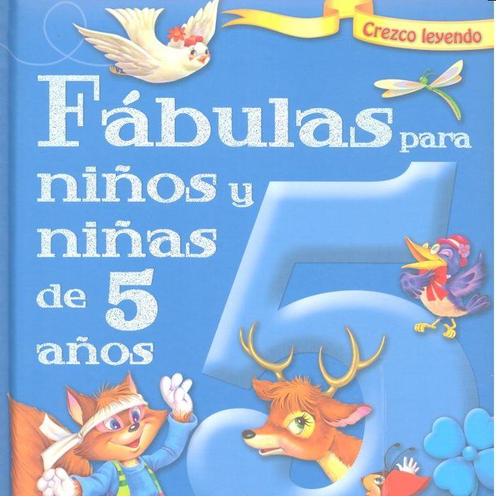 Fabulas para niños y niñas 5 años
