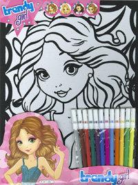 Trendy fabulous pretty and fashion girl t0429001
