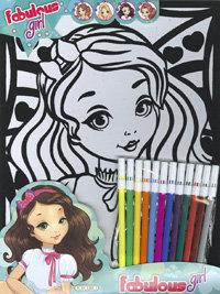 Trendy fabulous pretty and fashion girl t0429002