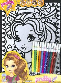 Trendy fabulous pretty and fashion girl t0429003