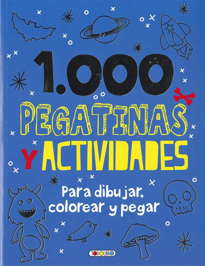 1000 pegatinas y actividades t0435001