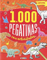 Dinosaurios 1000 pegatinas con actividades