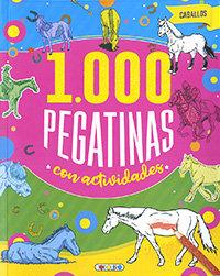 Caballos 1000 pegatinas con actividades