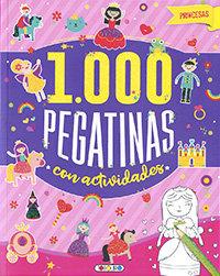 Princesas 1000 pegatinas con actividades